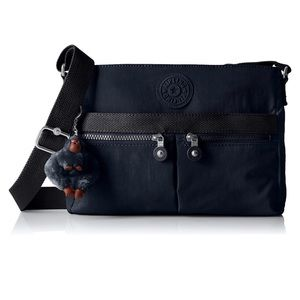 Kipling Angie Solid Convertible Crossbody Bag NWT